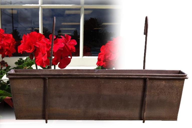 Flot rustik altankasse - antiklook, metal